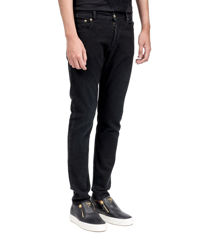Black Skinny Denim Jeans