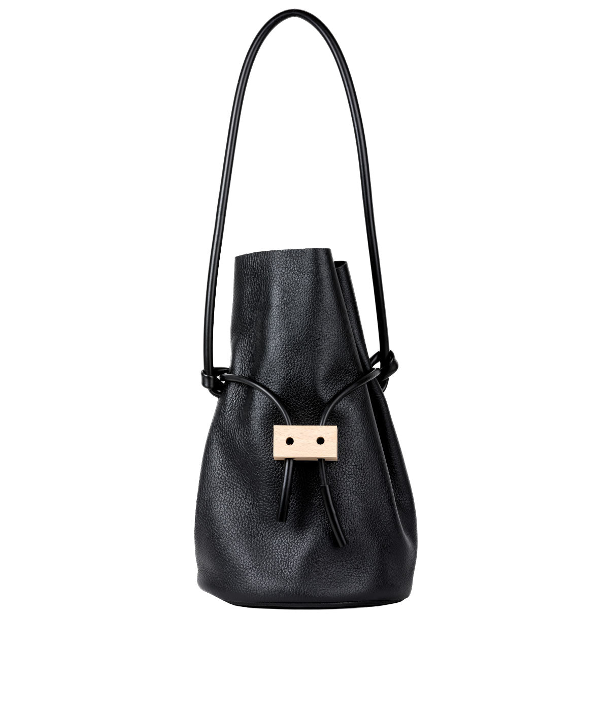 Black Cable & Outlet Bucket Bag