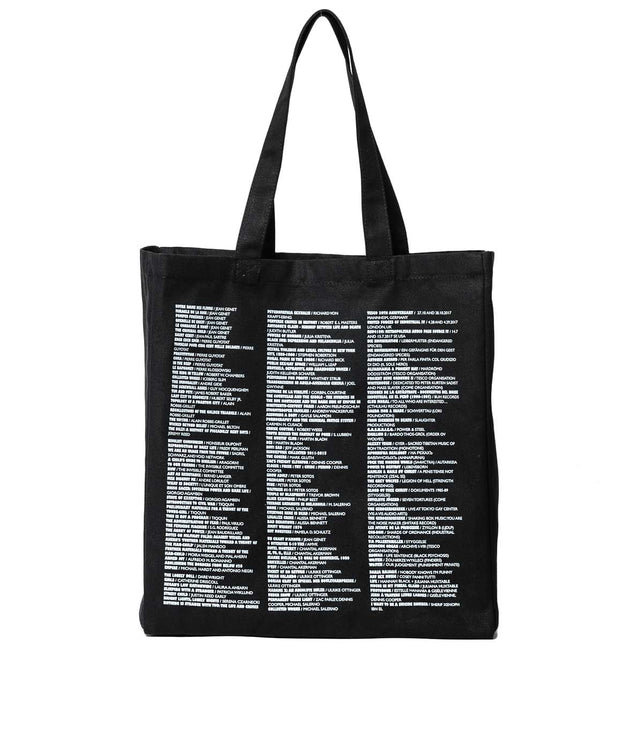 Black Reference Tote Bag