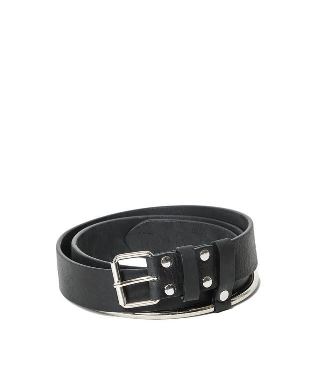 Black Ring Belt