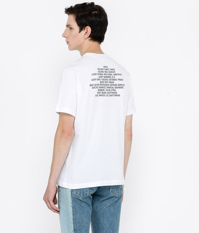 White Aries T-Shirt