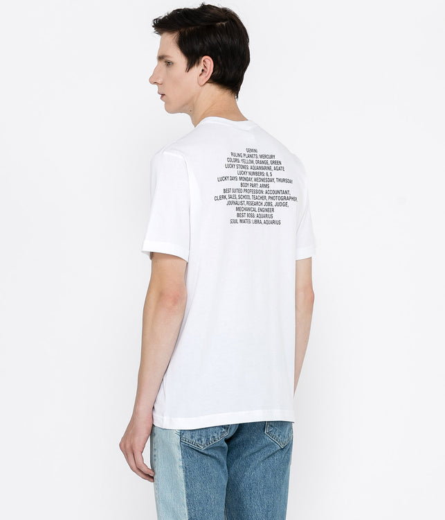 White Gemini T-Shirt