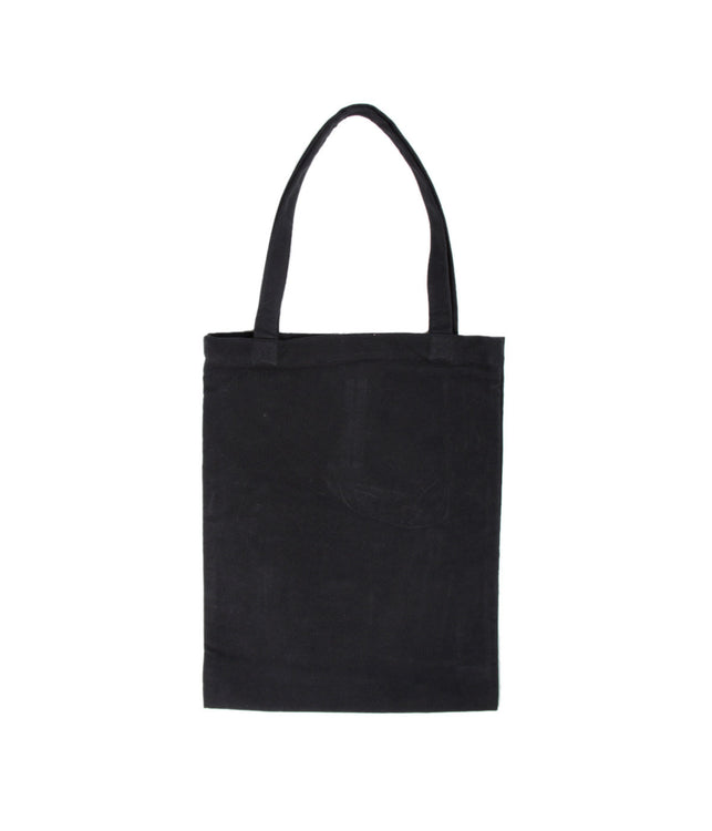 Black Photo Print Tote Bag