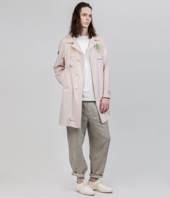 Pink Patch Coat
