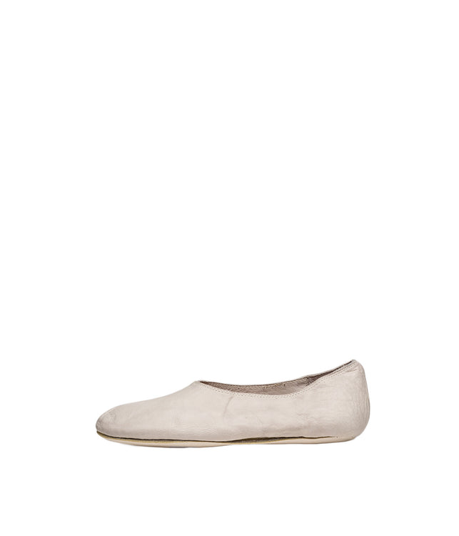 Kangaroo Leather Ballet Flats