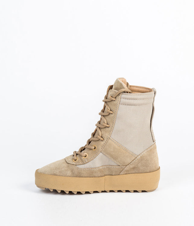 Rock Grey Military Boots