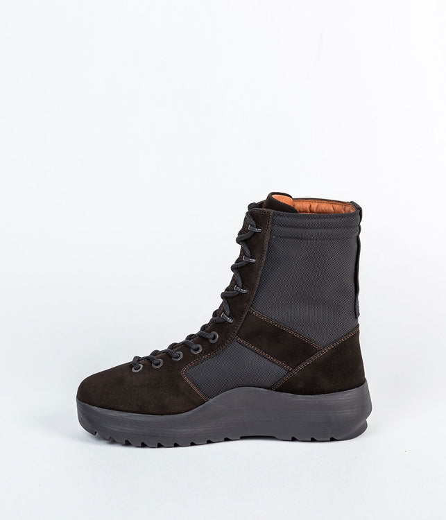 Onyx Shade Black Military Boots