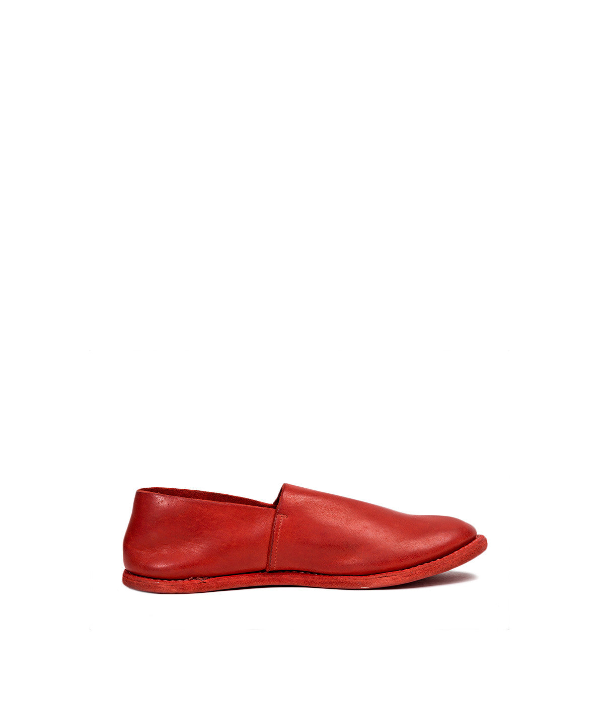 Perforated Calf Leather Slip-on Shoes