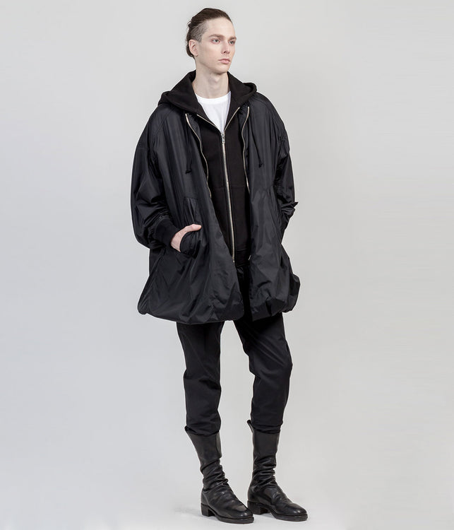 Black Double Layered Jacket