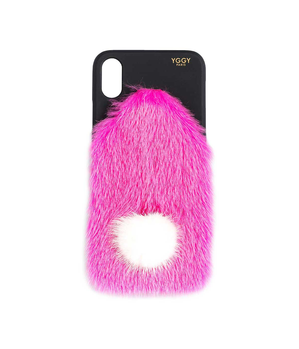 Fuchsia Fur iPhone X Case