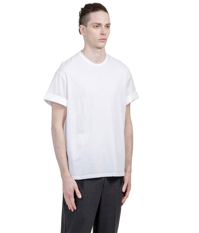 White Contrast T-Shirt
