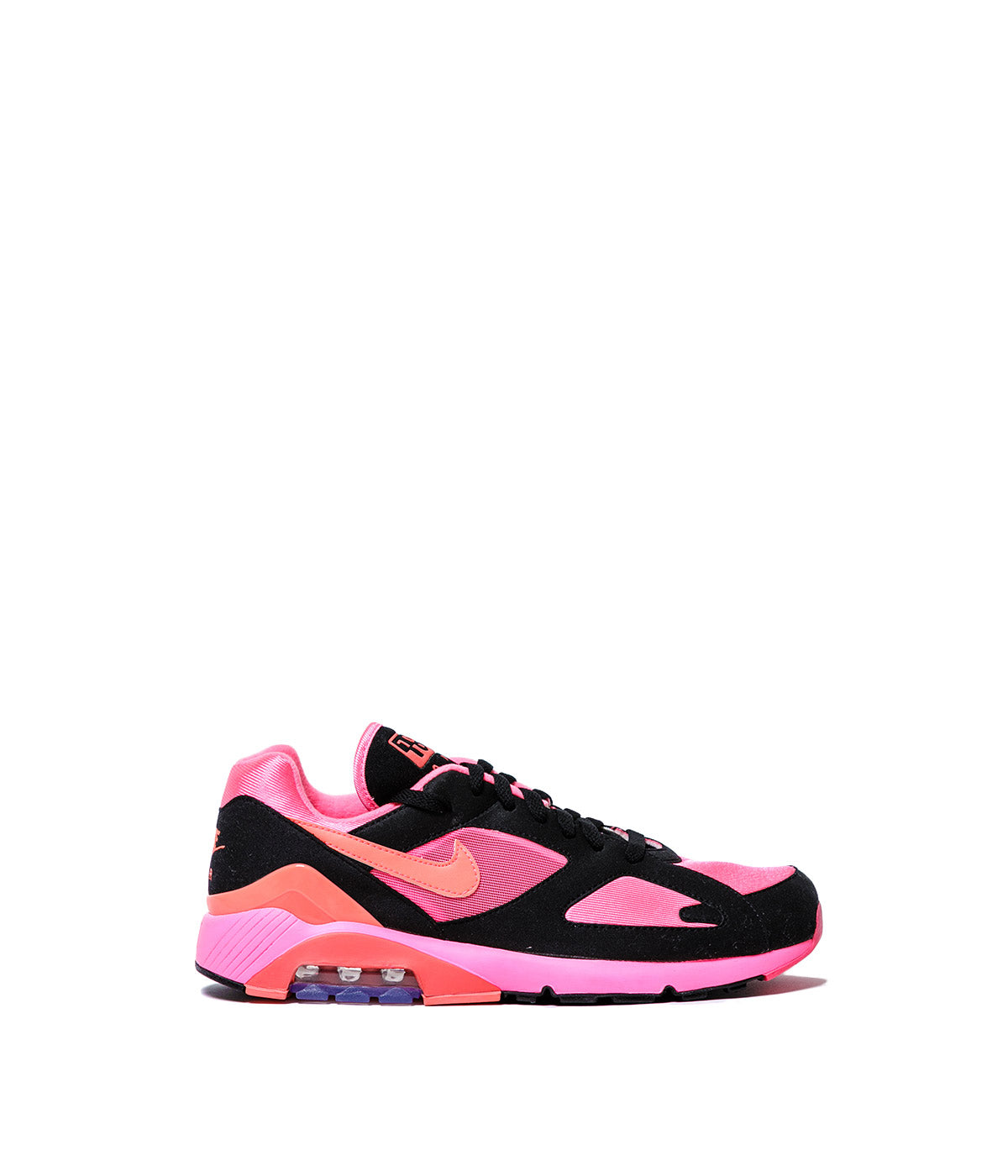 Black & Pink Nike Air Max 180 Sneakers