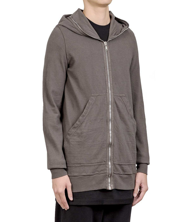 Dark Dust Full Length Front Zip Hoodie