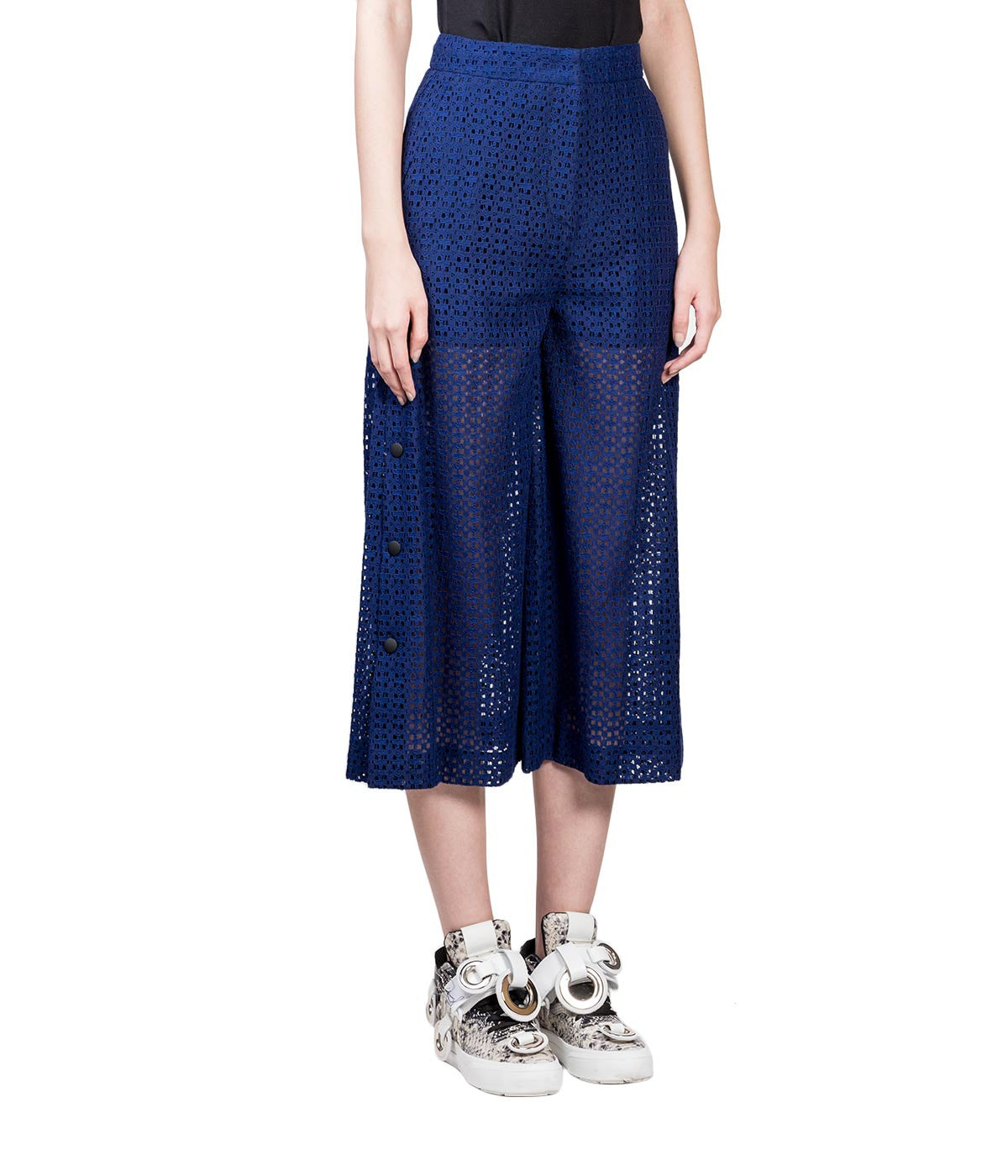 Lace Culottes with Snaps
