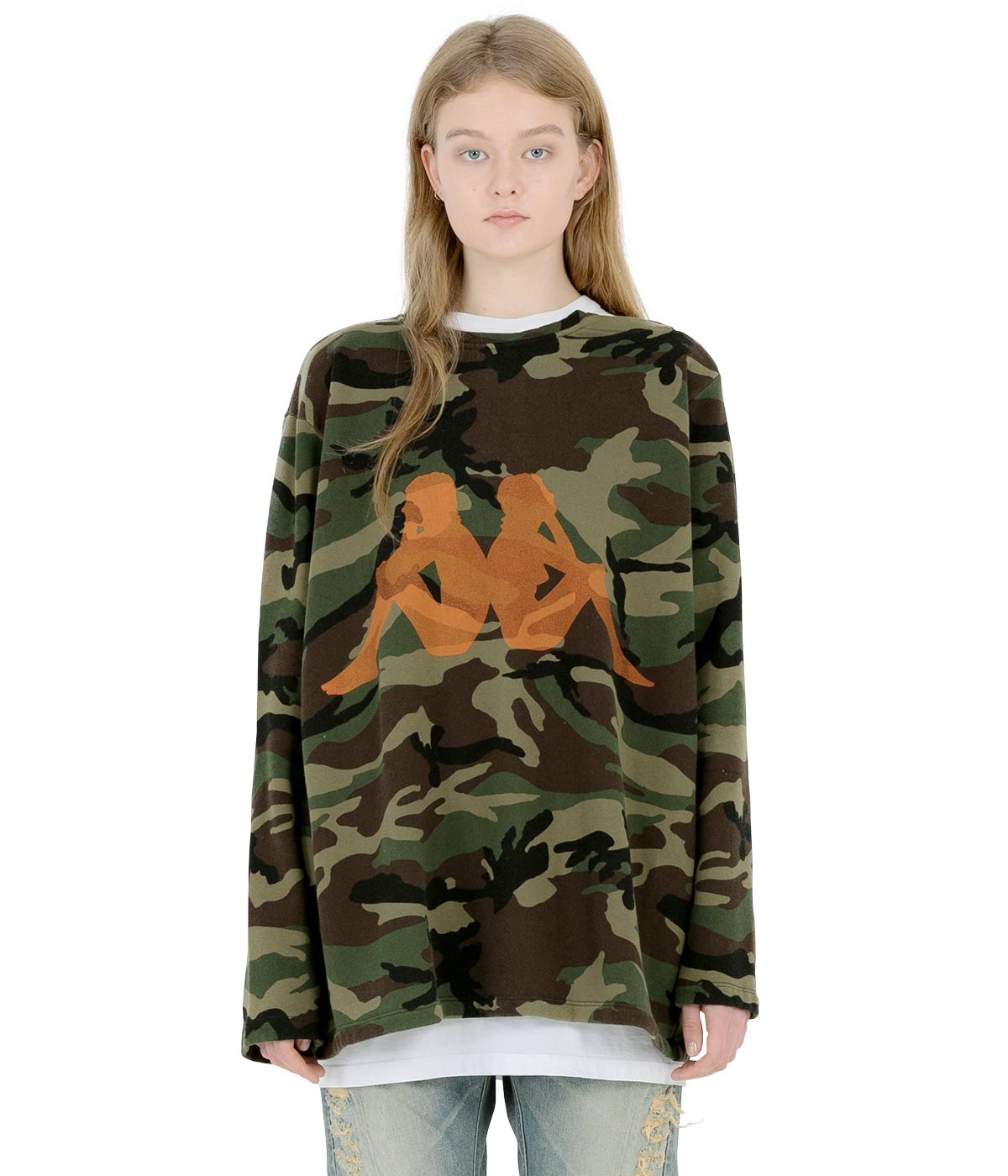 Military Camouflage Sailor Sweatshirt