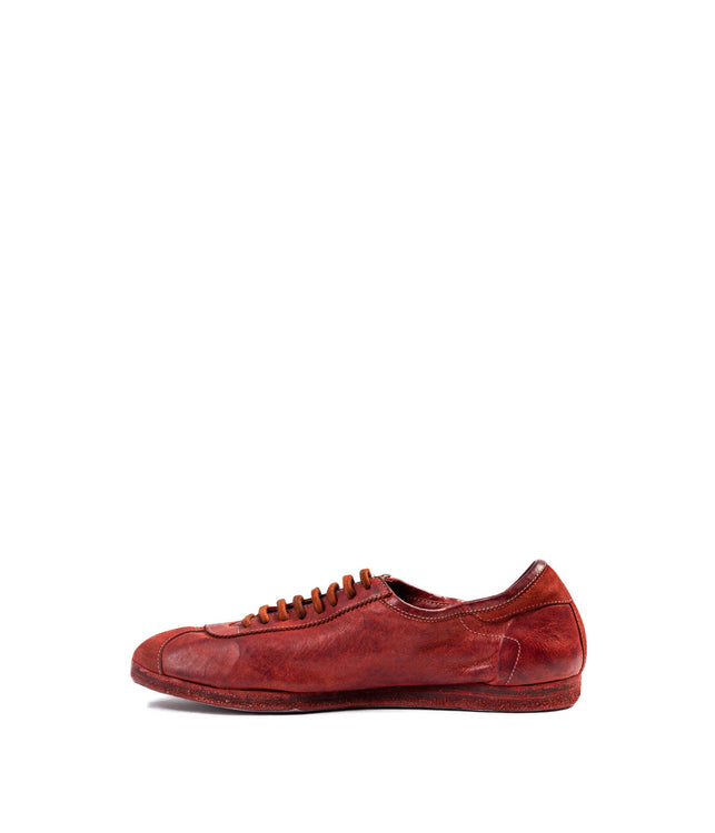 Red Kangaroo Full Grain Sneakers