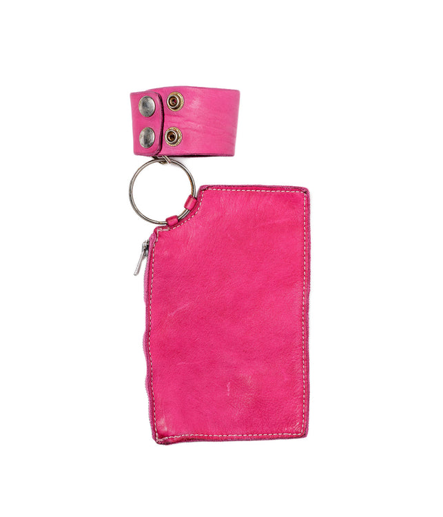 Pink Rectangular Coin Pocket