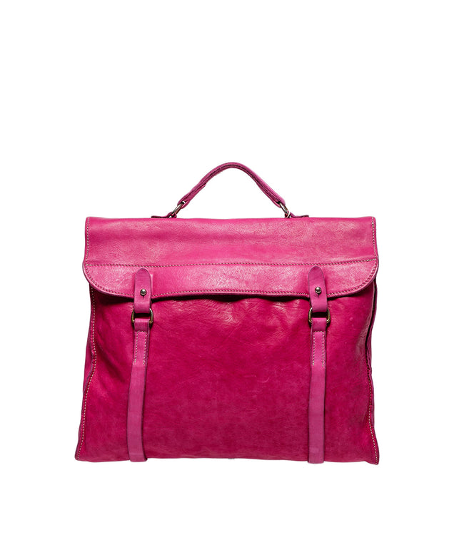 Pink Long Briefcase