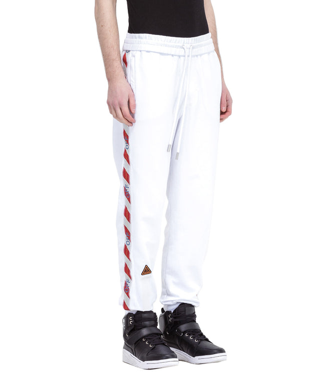 White Side Tape Sweatpants