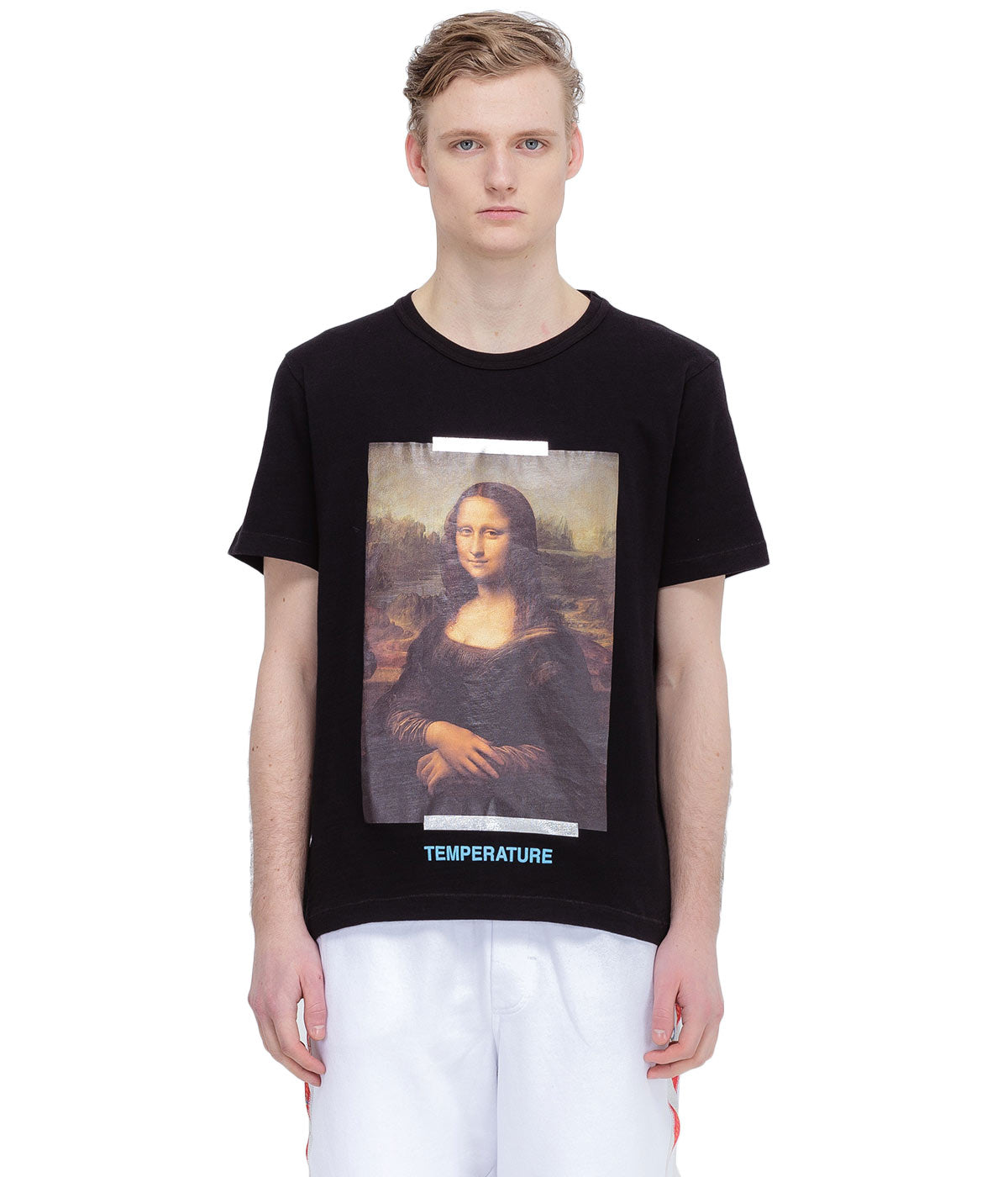 Black Mona Lisa Slim T-Shirt