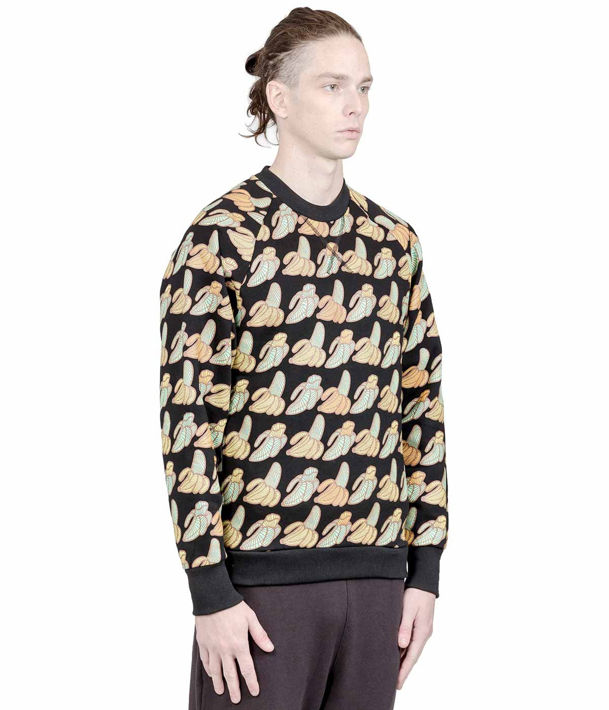 Black Sk8ting Allover Banana Sweatshirt