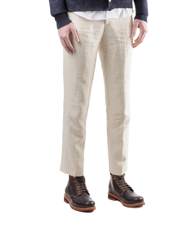 Slim Fit Hemp Pants