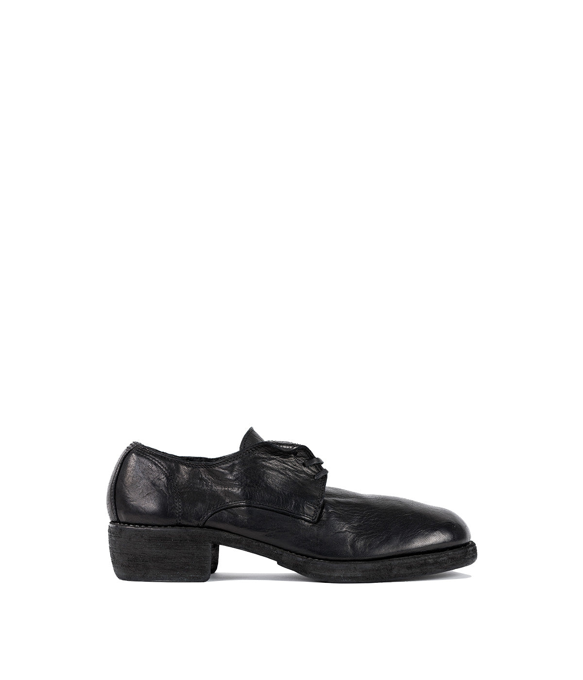 Black Classic Derby Shoes
