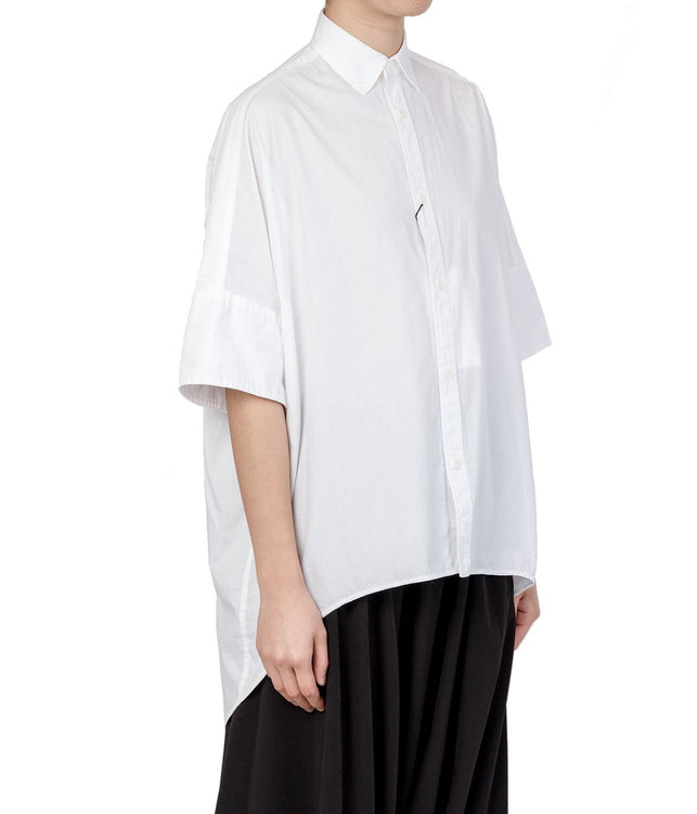 White Oversized Cotton Shirt