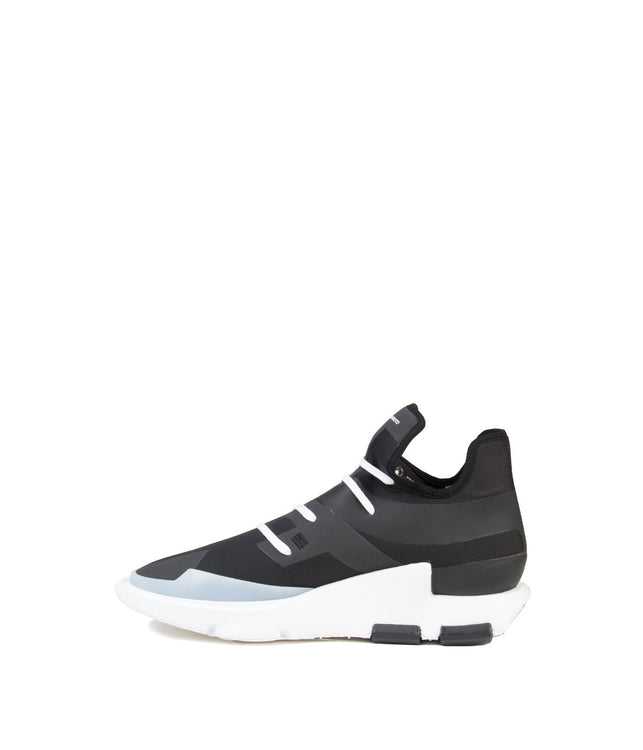 Black Noci Low-Cut Sneakers