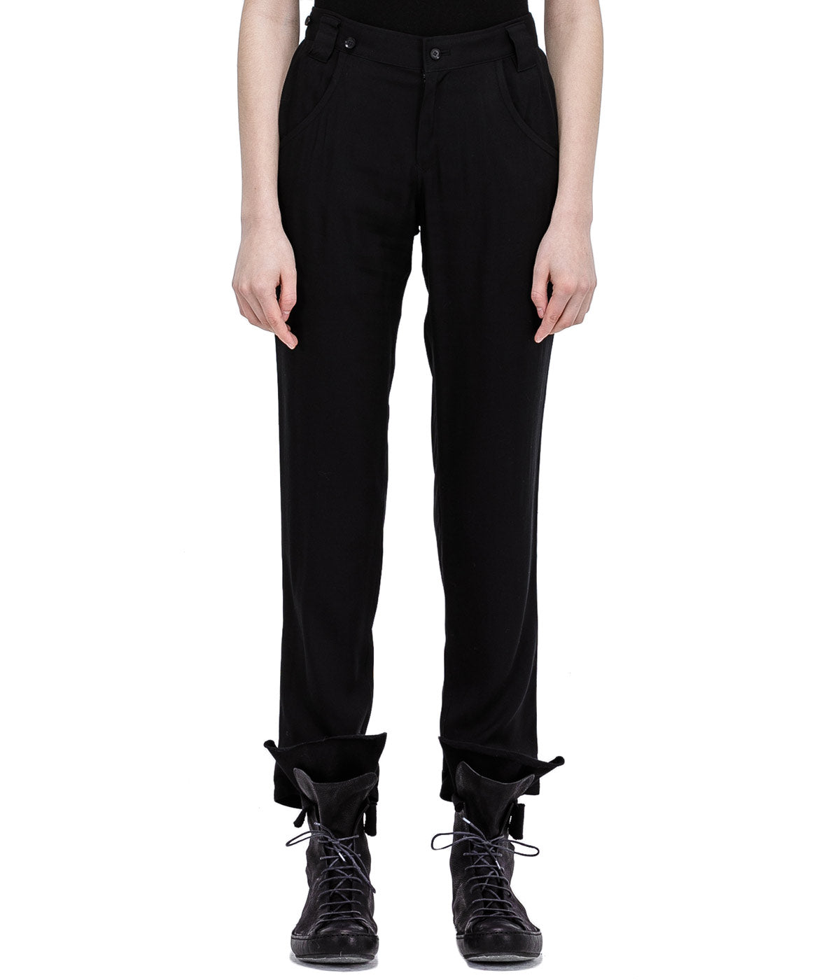 Black Basic Pants