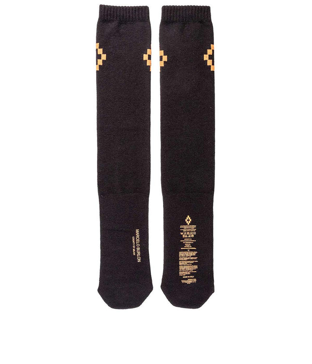 Black Cruz Socks