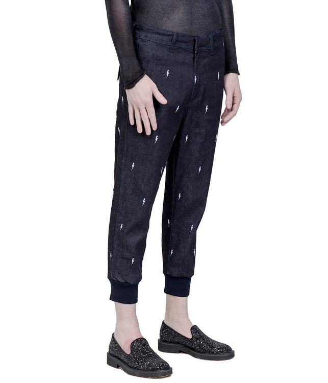Dark Navy Jogging Denim