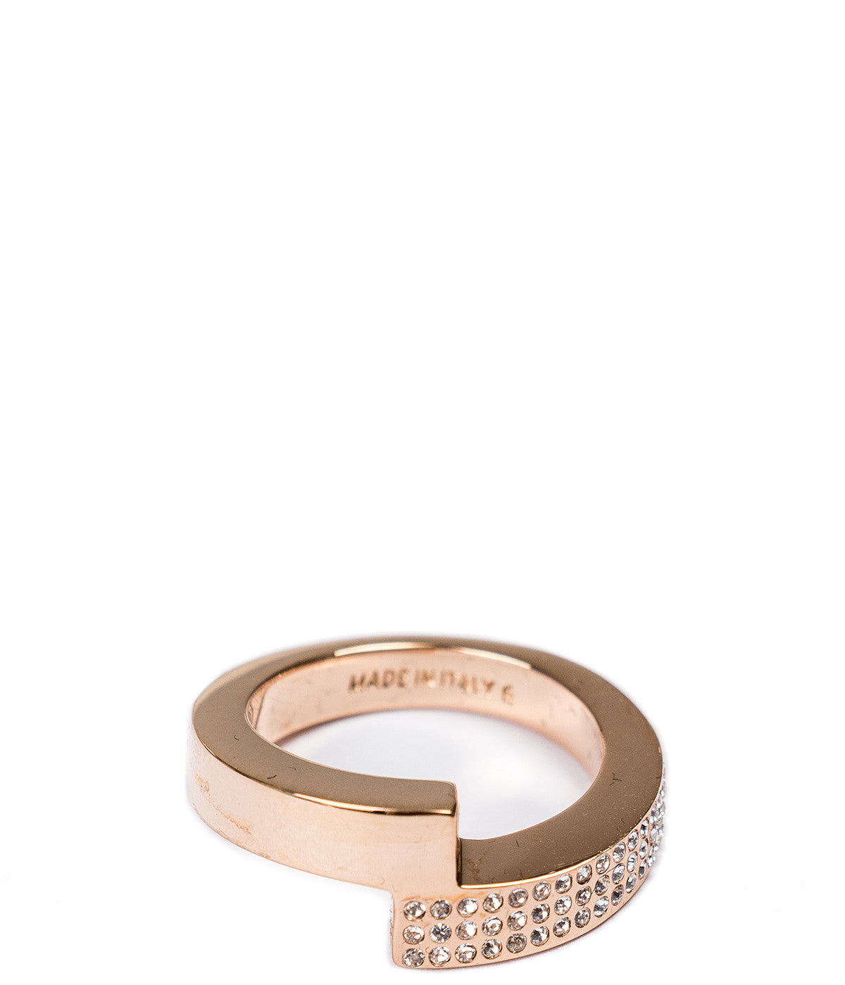 Rose Gold Mare Crystal Ring