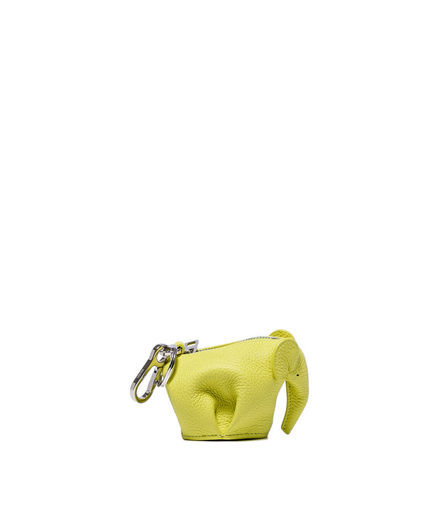 Lemon Yellow Elephant Charm