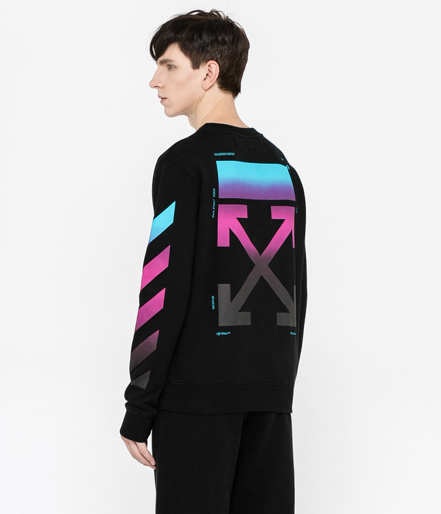 Black Gradient Crewneck