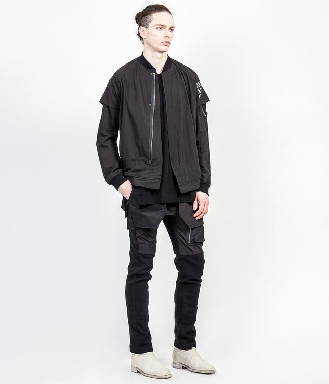 Black Contrast Jacket