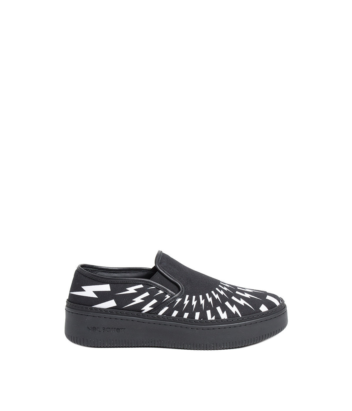 Black Slip-On Basketball Sneakers