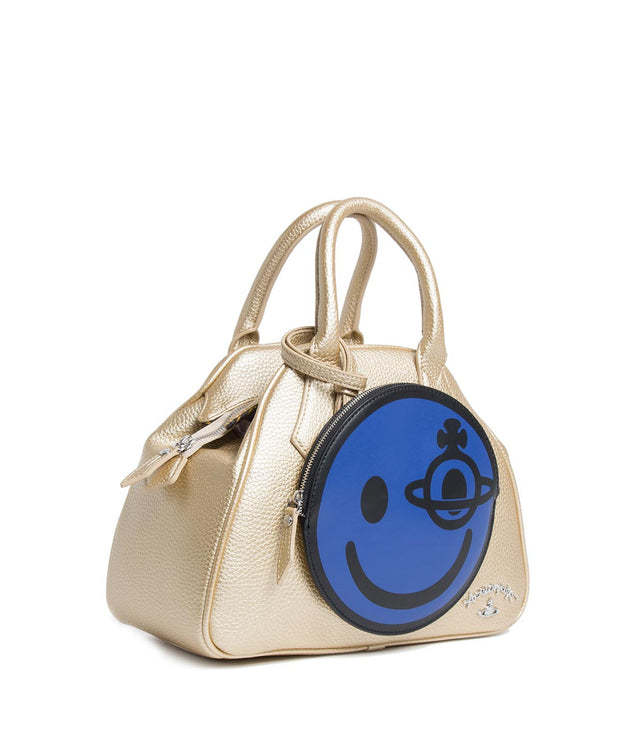 Gold Happy Handbag