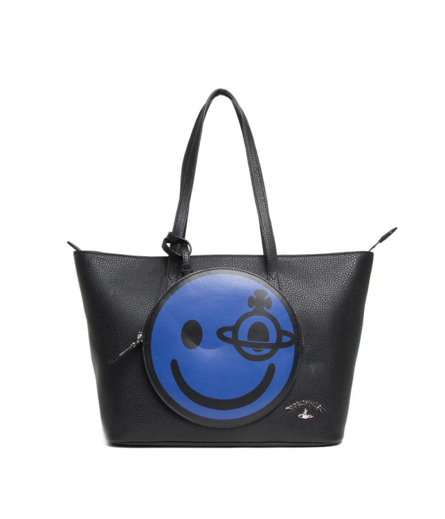 Black Happy Tote