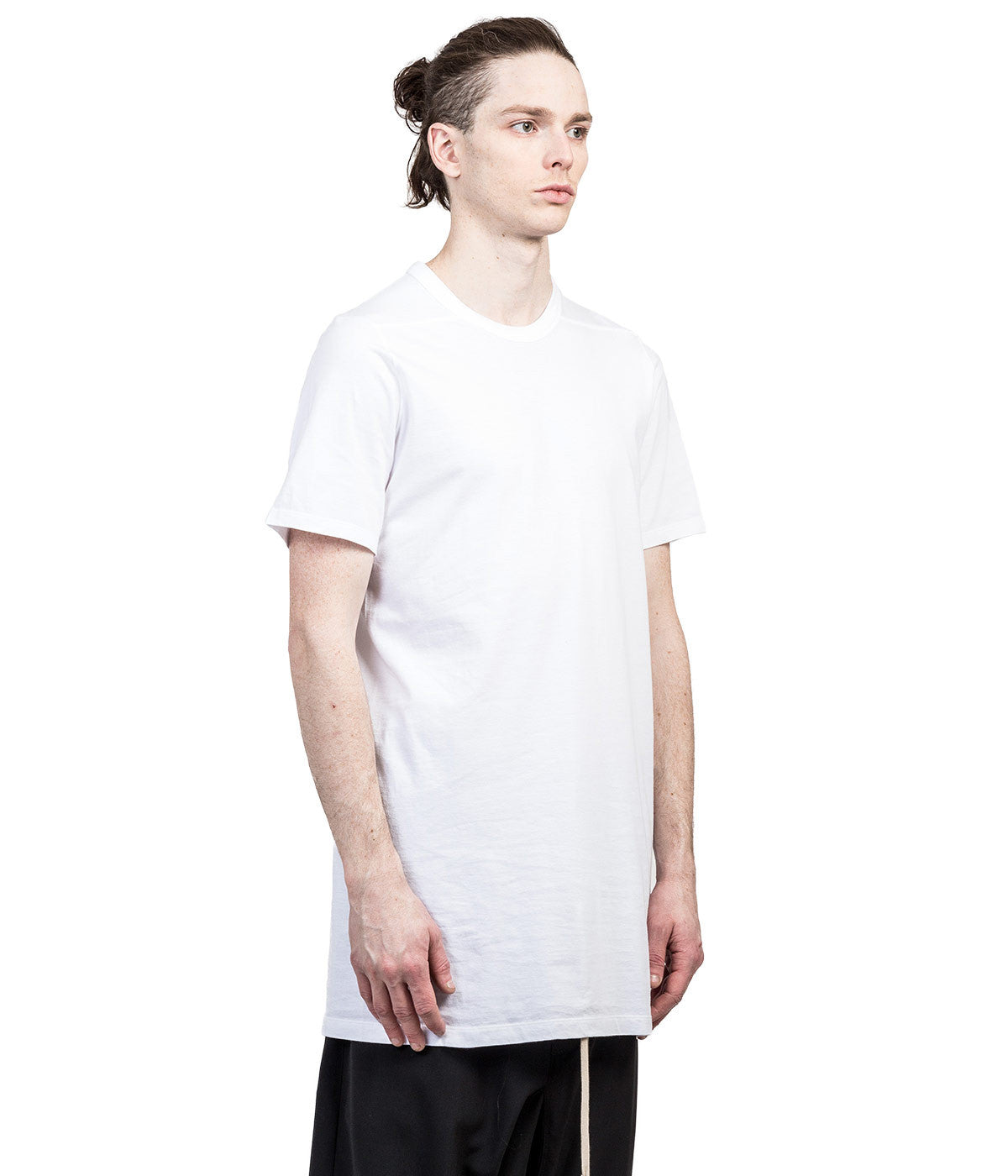 White Overlong T-Shirt