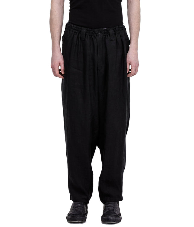 Black S-Gusset Pants