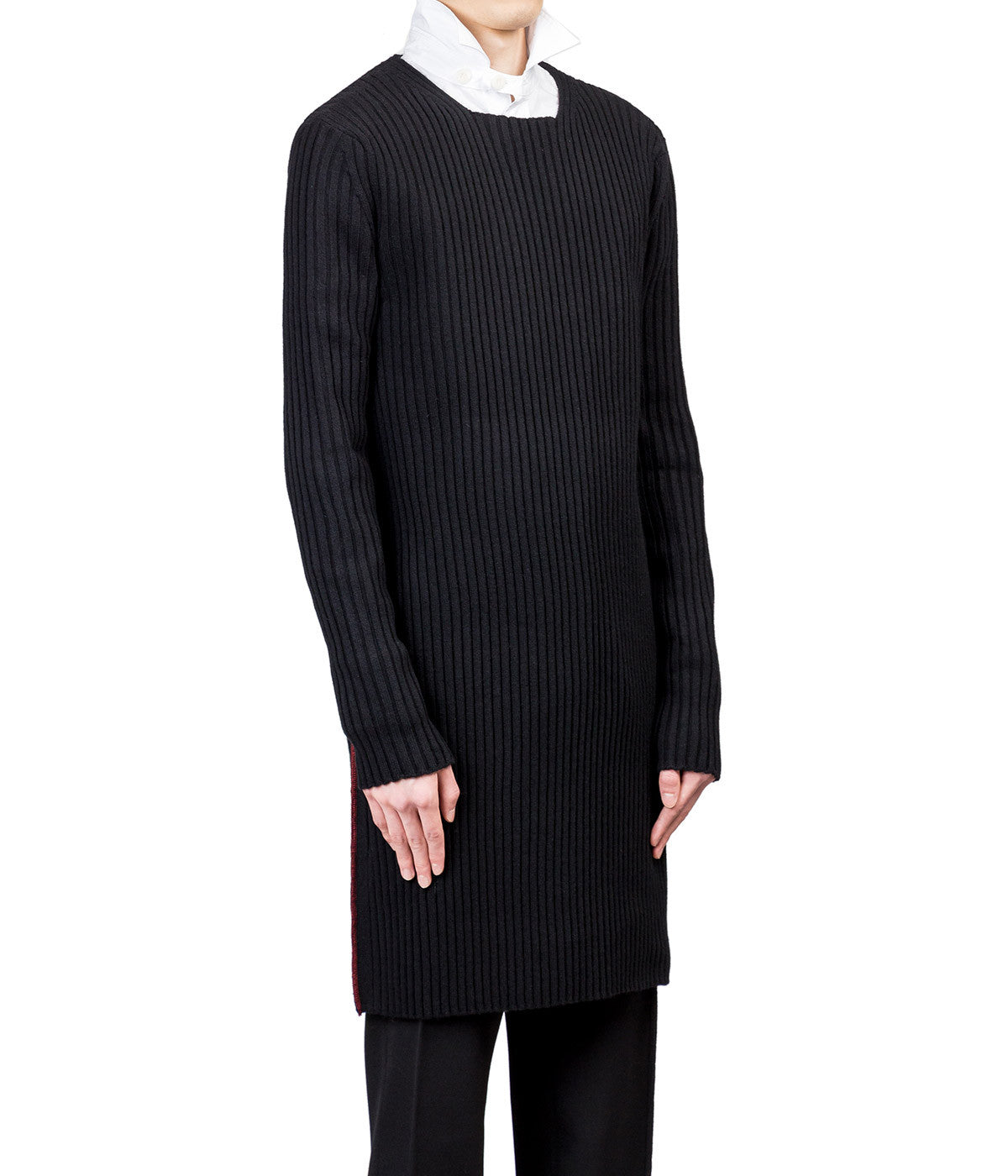 Black Long Knitwear