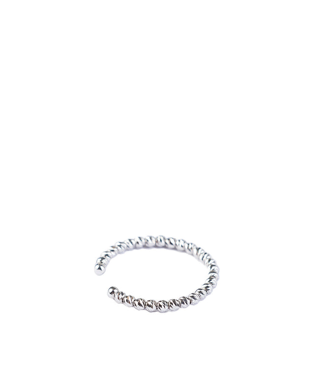 White Gold Shimmer Ring