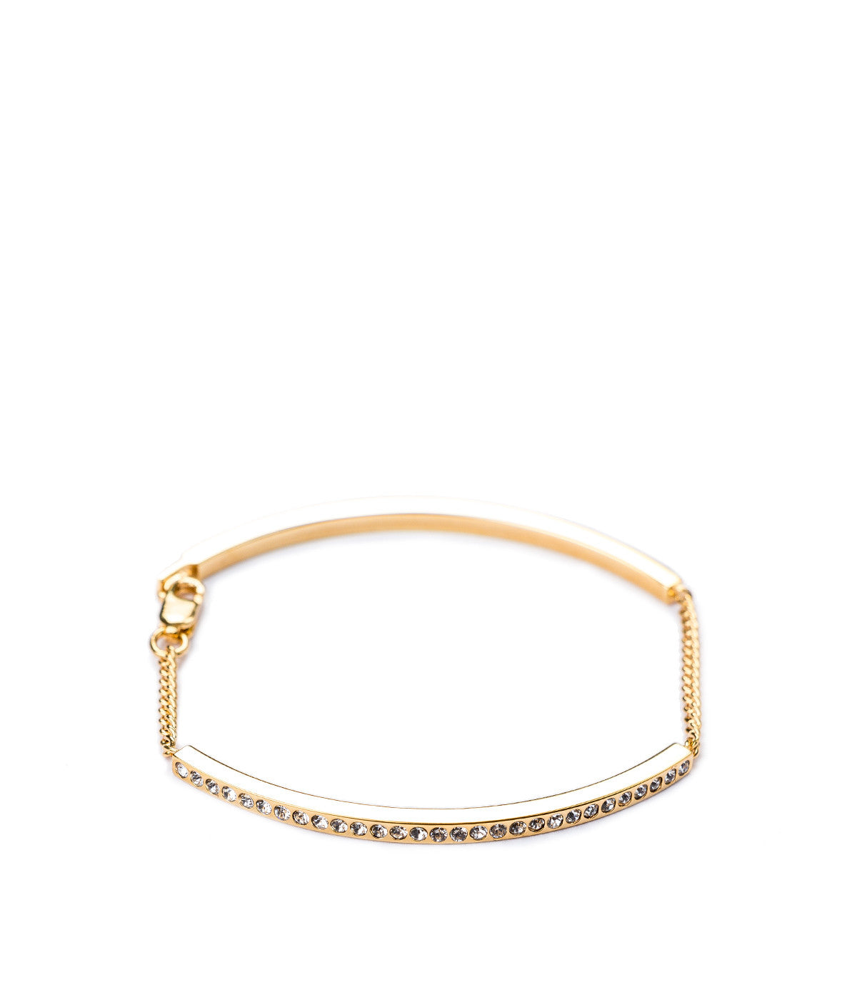 Gold Mini Aria Crystal Bracelet