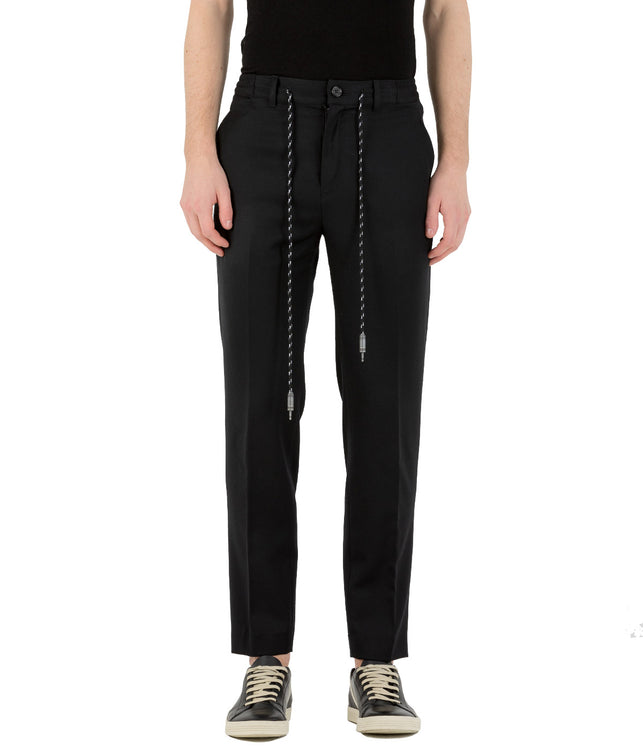 Light Wool Signature Trousers