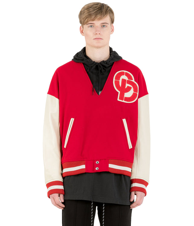 Red Stadium Pullover Jacket