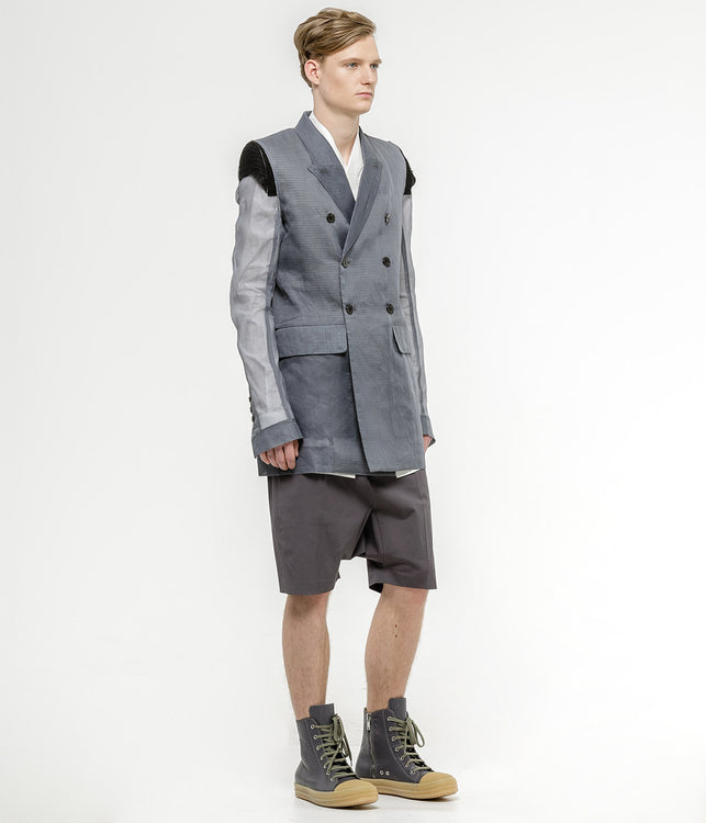 Grey Double Breast Berger JMF Jacket