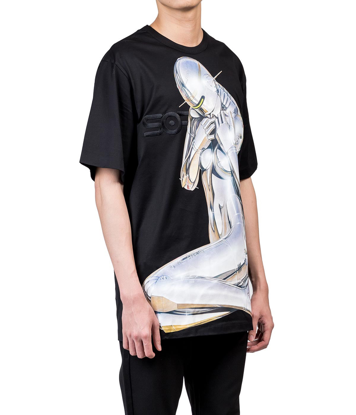 Sorayama Oversized Graphic T-Shirt