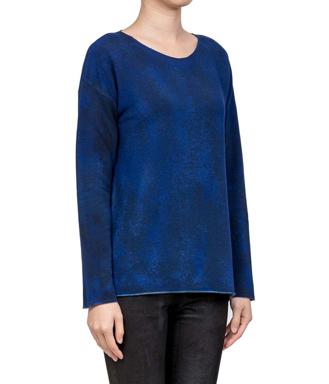 Mixed Indigo Sweatshirt
