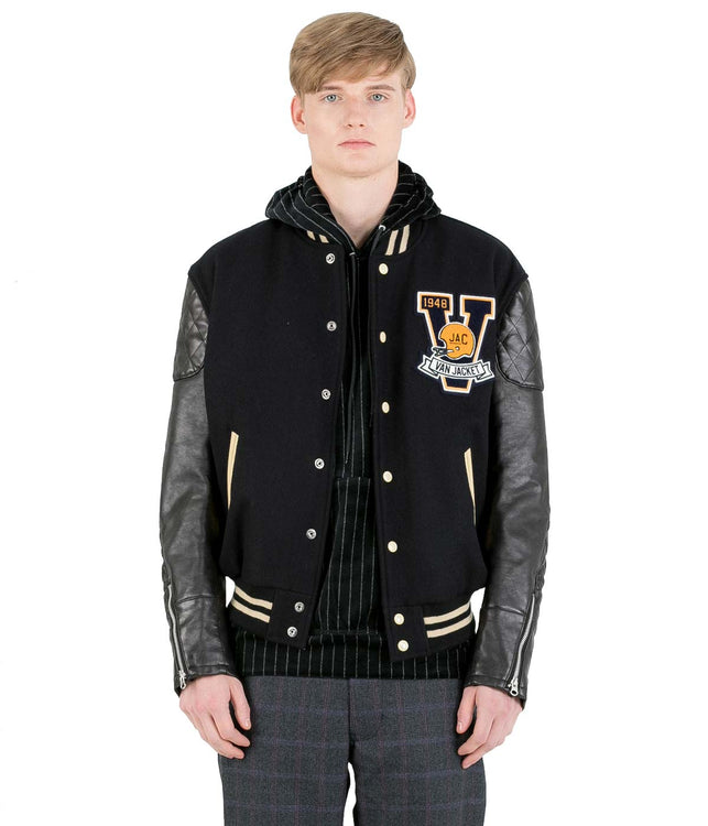 Black 'Van' Jacket